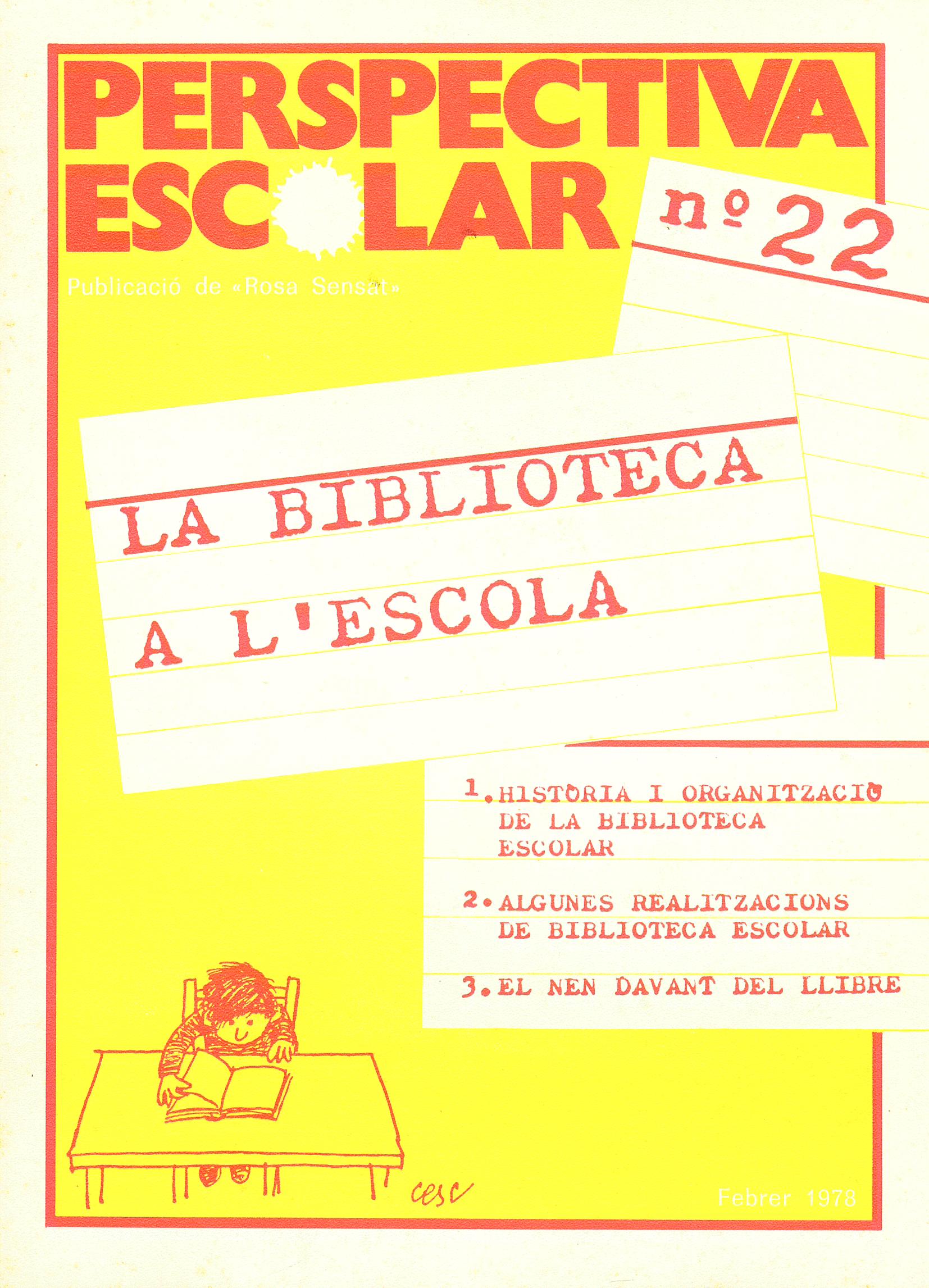 La biblioteca a l'escola Núm. 22