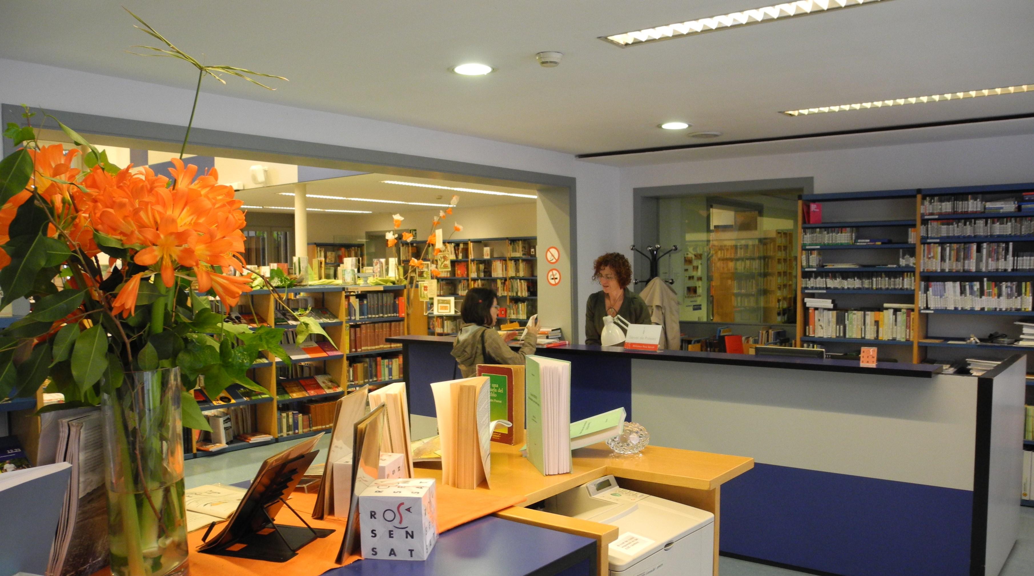 Taulell de la Biblioteca Rosa Sensat