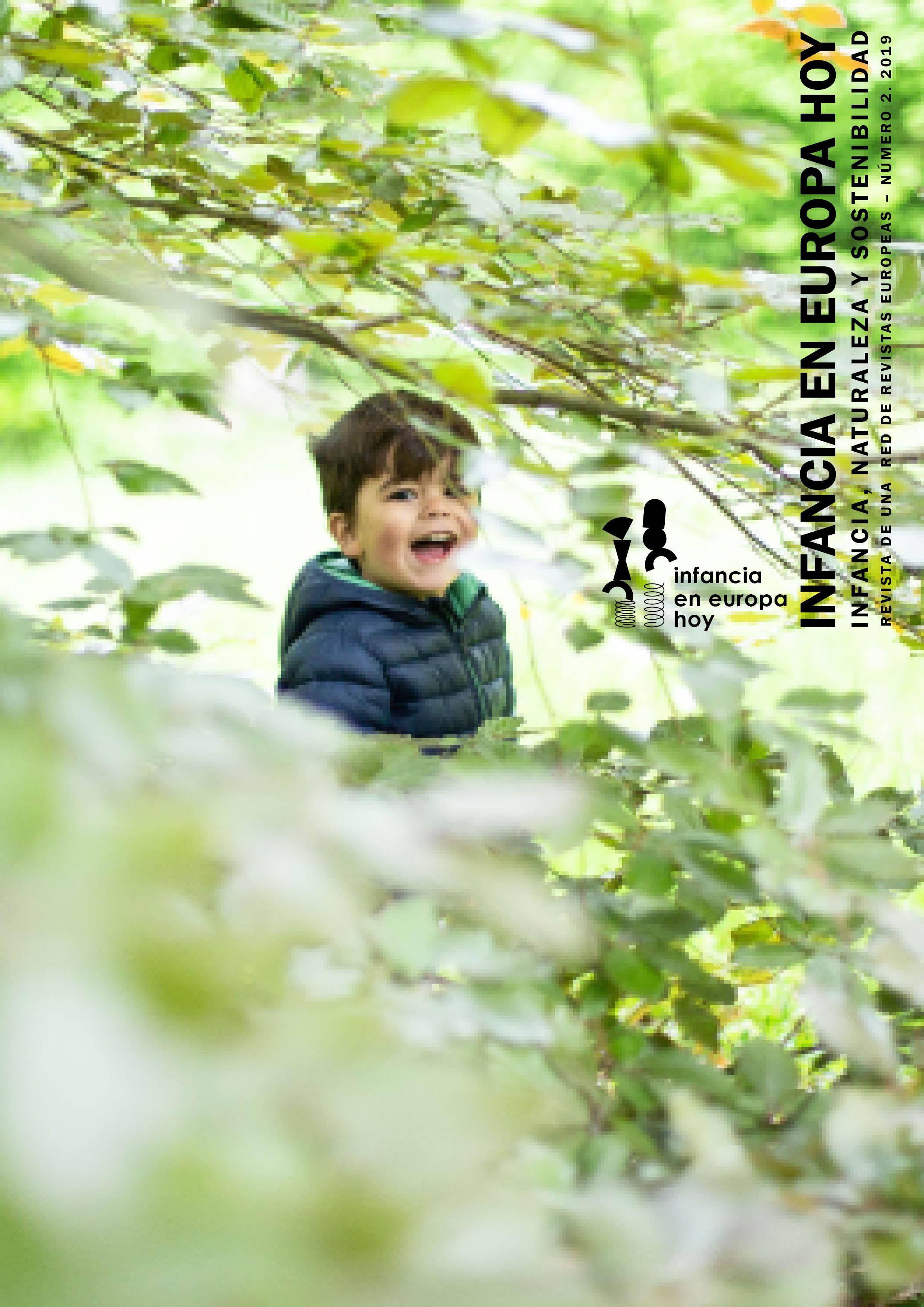 Infancia en Europa hoy. Infancia, naturaleza y sostenibilidad. Número 2